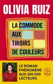 La commode aux tiroirs de couleurs - Couverture - Format classique