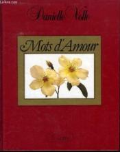Mots D'Amour - Couverture - Format classique