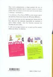 Maths Mpsi Tout Le Cours En 7 Syntheses Les Exercices Classes En 150 Methodes Les Solutions Redigees - 4ème de couverture - Format classique