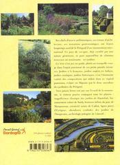 Le perigord des jardins - 4ème de couverture - Format classique