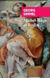 Michel-Ange et Rodin - Couverture - Format classique
