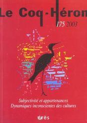 Coq heron 175 - subjectivite et appartenances - Intérieur - Format classique