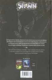 Spawn t.2 ; malédiction - 4ème de couverture - Format classique