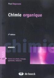 Chimie organique (2e édition) - Intérieur - Format classique