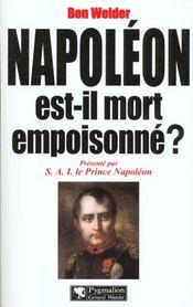 Napoleon est-il mort empoisonne ? - Intérieur - Format classique
