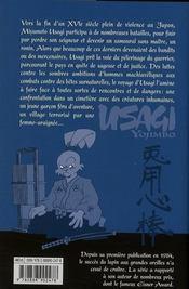 Usagi yojimbo t.14 - 4ème de couverture - Format classique