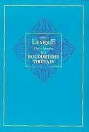 Lexique du bouddhisme tibétain - Couverture - Format classique
