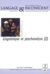 Revue Langage & Inconscient N.2 ; Linguistique Et Psychanalyse - Couverture - Format classique