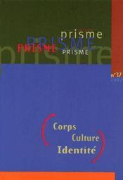 Corps, culture, identité - Couverture - Format classique