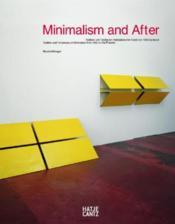 Minimalism and after - Couverture - Format classique