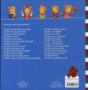 CAMILLE ; Camille T.26 ; Camille et la galette des rois - 4ème de couverture - Format classique