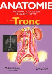 ATLAS DE POCHE ; anatomie t.1 ; tronc (2e édition) - Couverture - Format classique