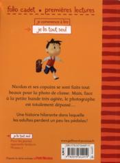 Le petit Nicolas ; la photo de classe - 4ème de couverture - Format classique