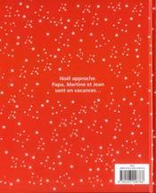 Martine ; la nuit de Noël - 4ème de couverture - Format classique