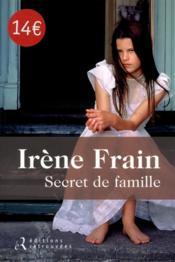 Secret de famille - Couverture - Format classique