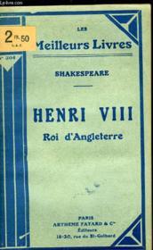 Henri Viii Roi D'Angleterre - Couverture - Format classique