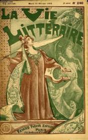 La Delicatesse. La Vie Litteraire. - Couverture - Format classique