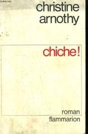 Chiche. - Couverture - Format classique