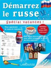 Démarrez le russe ; spécial vacances - Couverture - Format classique