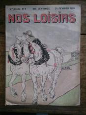 NOS LOISIRS n°8 quatrième année - Couverture - Format classique