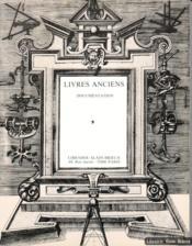 Histoire des sciences et de la médecine. Livres anciens, documentation - Couverture - Format classique