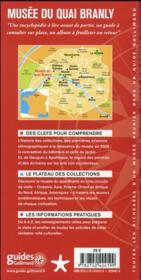 Musée du Quai Branly - 4ème de couverture - Format classique