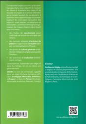 SMART (strategic, measurable, ambitious, relavant, timely) ; réussir en anglais en classes préparatoires aux grandes écoles - 4ème de couverture - Format classique