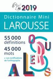 Dictionnaire Larousse mini (édition 2019) - Couverture - Format classique