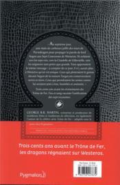 Feu & sang T.1 - 4ème de couverture - Format classique