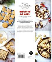 Biscuits de Noël - 4ème de couverture - Format classique