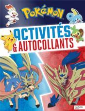 Pokémon ; activités & autocollants - Couverture - Format classique