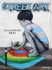 Calendrier mural street art (édition 2021) - Couverture - Format classique