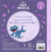 La Reine des Neiges 2 ; mes premières chansons - 4ème de couverture - Format classique