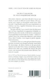 Heurs et malheurs du sous-majordome Minor - 4ème de couverture - Format classique