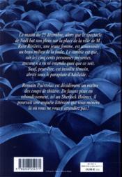 Sous le parapluie d'Adélaïde - 4ème de couverture - Format classique