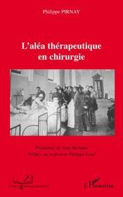 L'aléa thérapeutique en chirurgie - Intérieur - Format classique