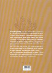 Les chemins de malefosse t.14 ; franc-routier - 4ème de couverture - Format classique