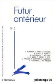 Futur Anterieur 2 - Couverture - Format classique