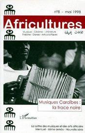 Revue Africultures N.8 ; Musiques Caraïbes : La Trace Noire (Edition 1998) - Couverture - Format classique