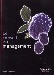 Le conseil en management - Intérieur - Format classique