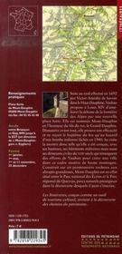 Mont-dauphin ; la place forte de vauban - 4ème de couverture - Format classique