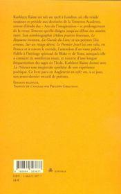 La Presence ; Poemes 1984-1987 - 4ème de couverture - Format classique