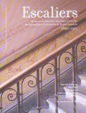 Escaliers ; décors et architecture des cages d'escalier des immeubles d'habitation de Suisse romande - Intérieur - Format classique
