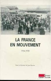 La france en mouvement - Couverture - Format classique