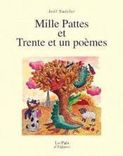 Mille pattes et trente et un poèmes - Couverture - Format classique
