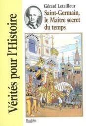 Saint-germain, le maitre secret du temps - Couverture - Format classique