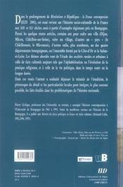 Bourgogne de lamartine a nos jours - 4ème de couverture - Format classique