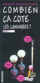 Les luminaires - Intérieur - Format classique