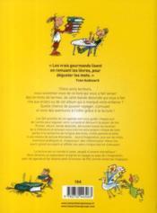 L'agenda du lecteur curieux - 4ème de couverture - Format classique