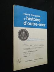 Revue d'histoire d'outre-mer, tome LV, n°199, 2e trimestre 1968 - Couverture - Format classique